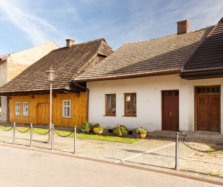 traditional, old historical architecture in the village of Lanckorona near Krakow. poland