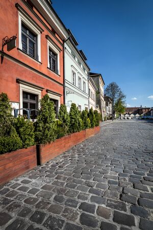 Cracow. The market of the old Jewish district of Kazimierz