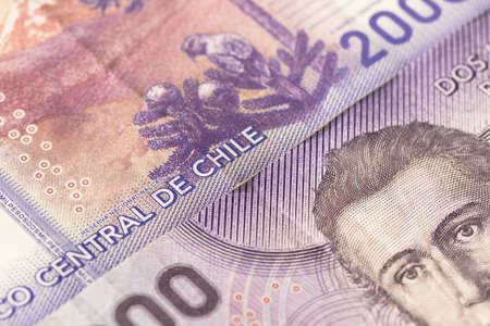 Chile money, Two thousand pesos paper banknote, Both sides
