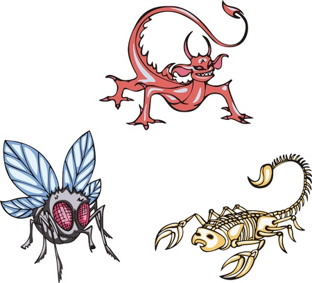 Dangerous insects Vector