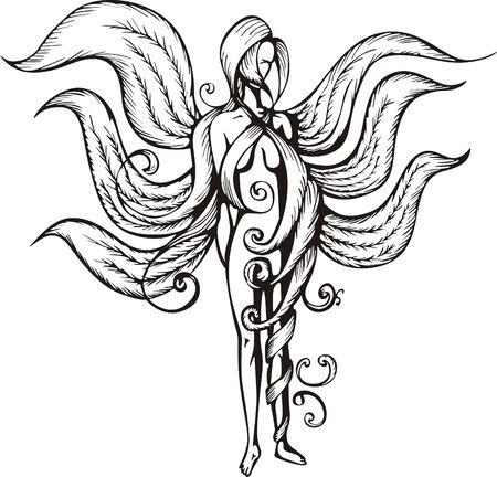 plaits: Fantasy firl with long hair