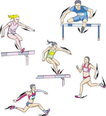 Atletismo: Carrera y Vallas.