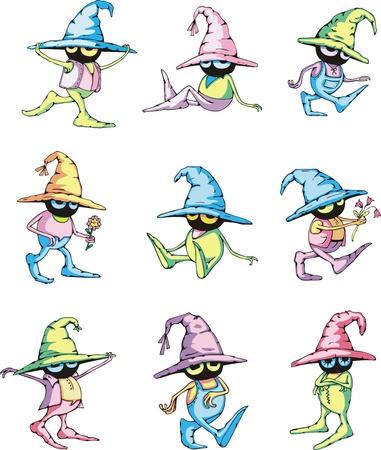 庭師の小人漫画のキャラクター。