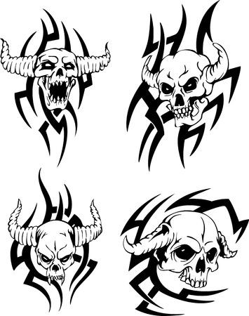 awful: Devil Skulls.