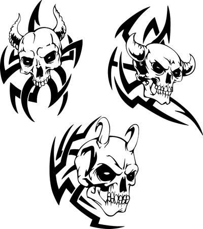 Devil Skulls.