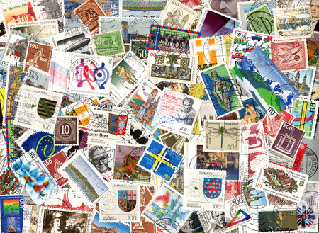 definitive: Background of the postage stamps issued in Germany