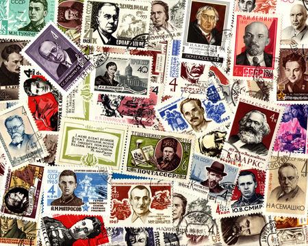 definitive: Personas. Antecedentes de los sellos emitidos en la Uni�n Sovi�tica (URSS).