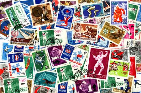definitive: Deportes. Antecedentes de los sellos emitidos en la Uni�n Sovi�tica (URSS).