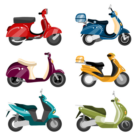 vespa: conjunto de Scooter