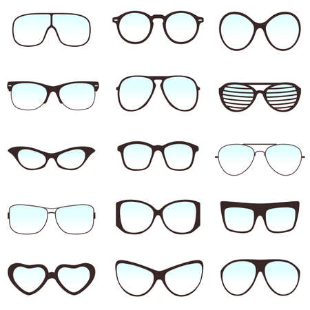 eyeglass: glasses