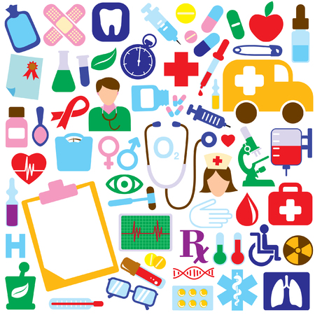 medical icon set  Stock Vector - 8188624
