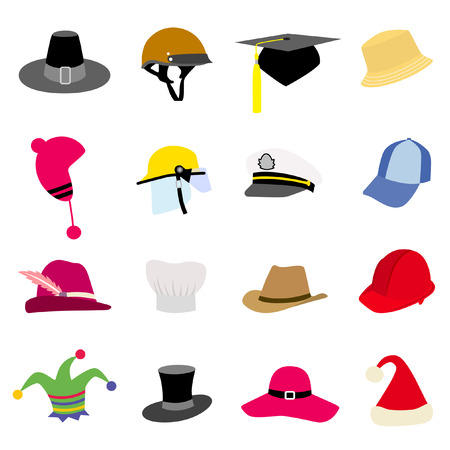 hat set Stock Vector - 8188607