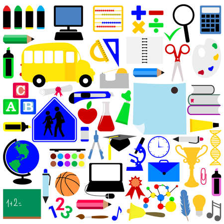 education icons  Stock Vector - 8188622