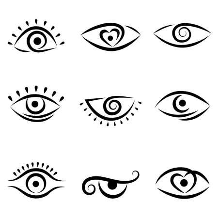 eye shadow: eye design set