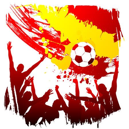 worldcup: vector worldcup spain