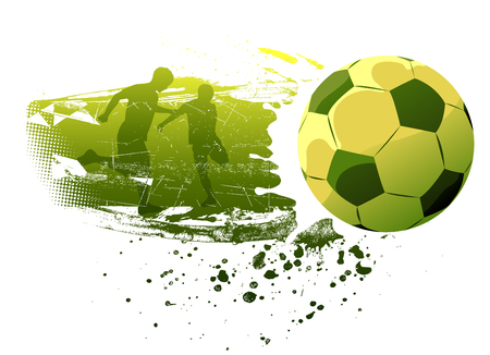 champ: people playing soccer  Illustration
