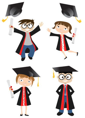 graduate  Stock Vector - 8352782