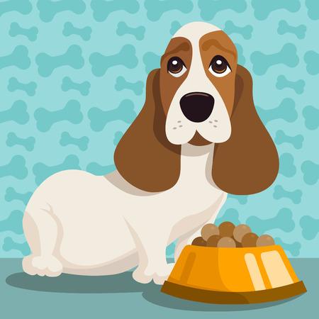 pet food: dog illustration
