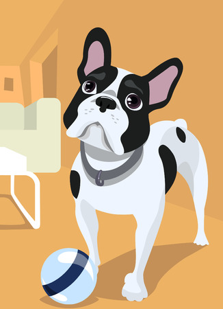 dog illustration  Vector