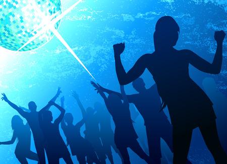 tanzende Menschen Lizenzfreie Bilder - 8403997