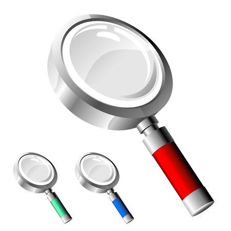 zoom: magnify glass  Illustration