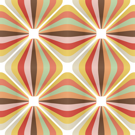 60 s: vector retro wallpaper
