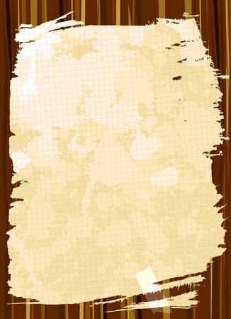 ecartel�: Cadre de grunge  Illustration