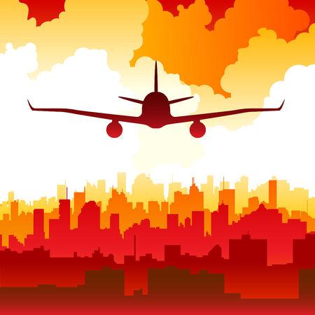 palm pilot: landing  Illustration