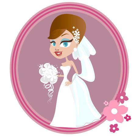 marrying: wedding illustration