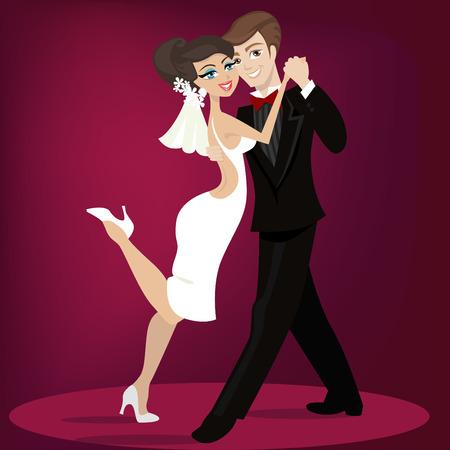 veils: wedding illustration