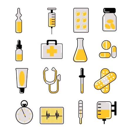 medical icon set  Stock Vector - 8529202