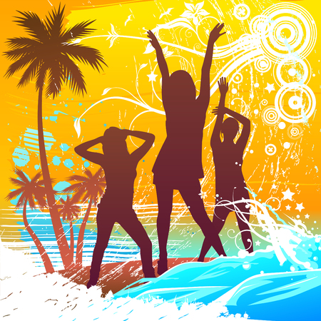 beach party people: summer design