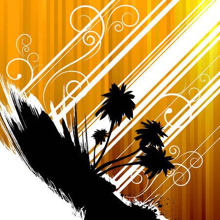 tropical design  Vector