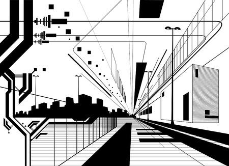 architectural: architectural modern design
