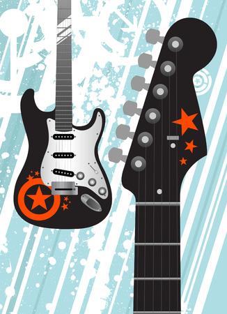 guitar  Stock Vector - 8566877