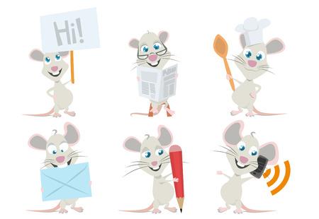 roedor: car�cter de rat�n lindo