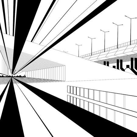 architectural design  Stock Vector - 8618016