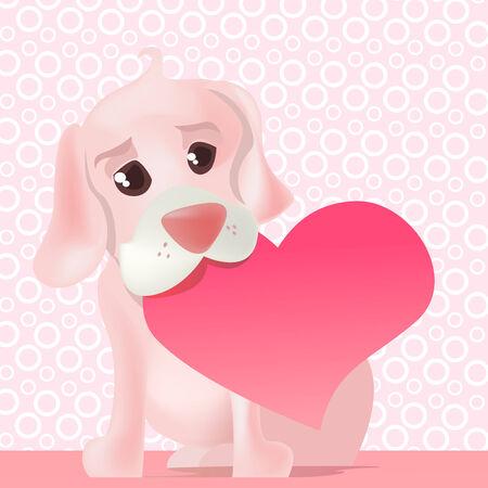 cute dog Stock Vector - 8618028