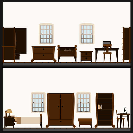 furniture icon set Stock Vector - 8717914