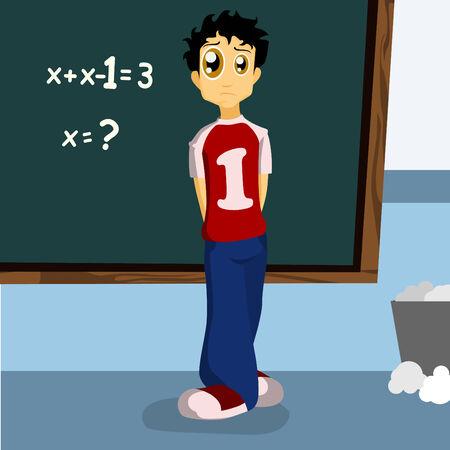 student black board  Vector
