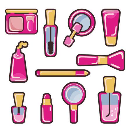 cosmetic icon set  Vector