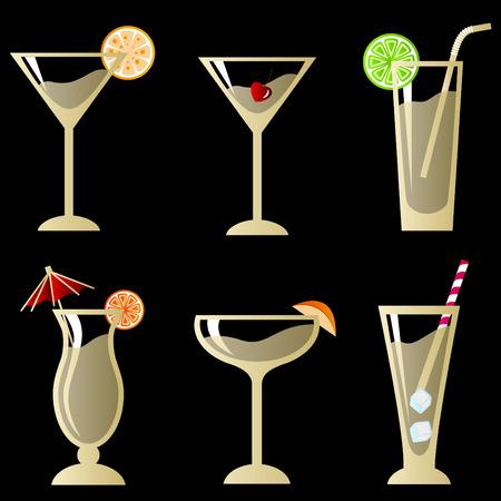 orange juice glass: bicchiere da cocktail con frutta set
