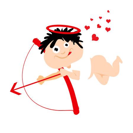 cute eros cartoon Stock Vector - 8817513