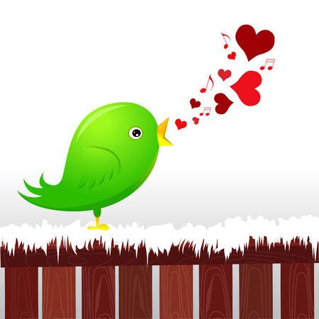 bird song: love bird
