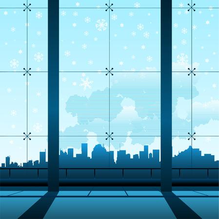 building interior  Stock Vector - 8817587