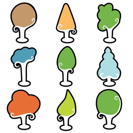 cedar tree: tree icons