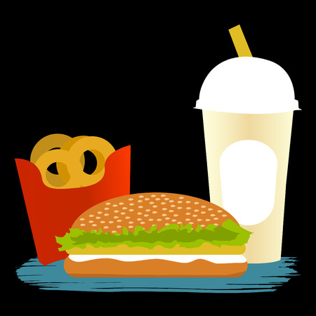 fast food  Stock Vector - 9003570