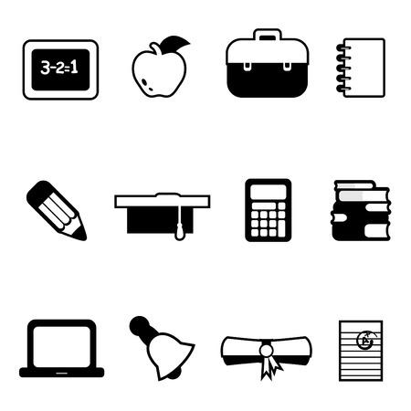 buho graduacion: iconos de educaci�n