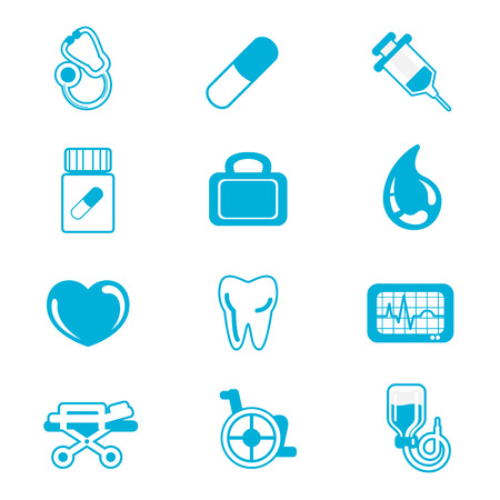 medical icon set Stock Vector - 9003594