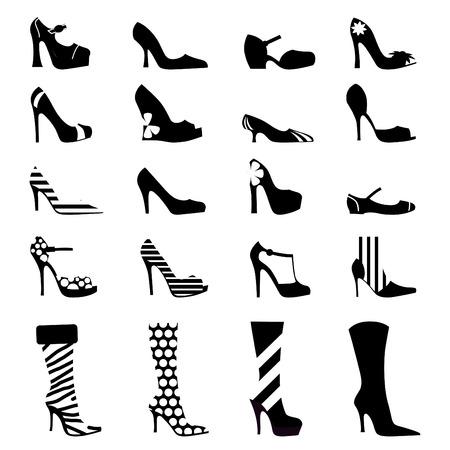 pairs: fashion woman shoes